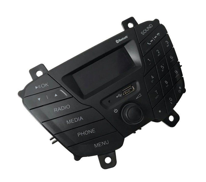 Frente Teclado Aparelho de Som Usb Bluetooth Frontal do Painel Original e3b518d815ae Ford Ka 014 015 016 017 018