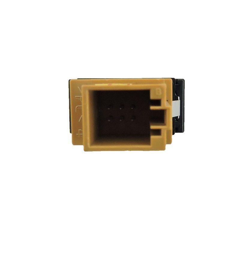 Botão Interruptor de Recolhimento da Cortina do Vidro Vigia Traseiro 4F0959903 Audi A6 04 05 06 07 08 09 010 011