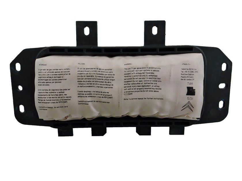 Bolsa Air Bag Lado Direito Passageiro do Painel Original Citroen C3 Picasso Aircross 011 012 013 014