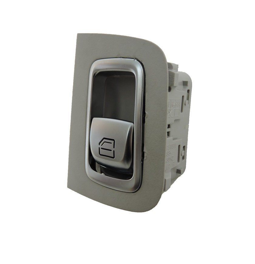 Botão Interruptor De Vidro Eletetrico Traseiro Esquerdo A2229052203 Mercedes C180 W205 014 015 016 017 018