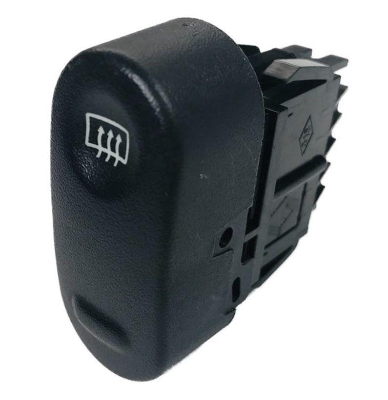 Botão do Painel Interruptor de Desembaçador Traseiro 106799 Renault Clio 06 07 08 09 010 011 012