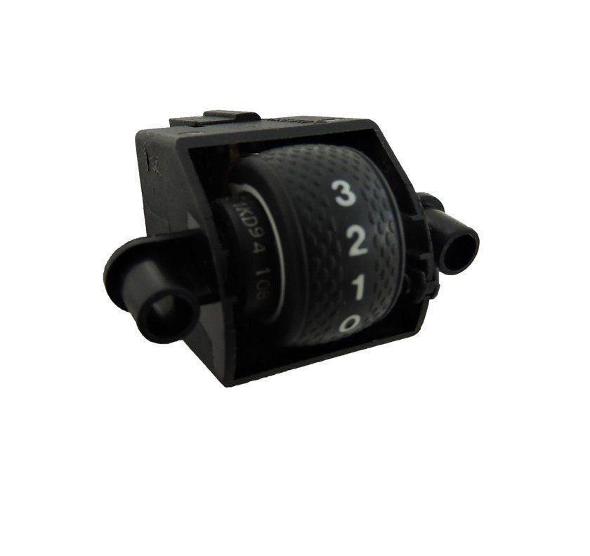 Botão do Painel Interruptor de Regulagem de Altura do Farol Fiat Marea Brava 99 00 01 02 03 04 05