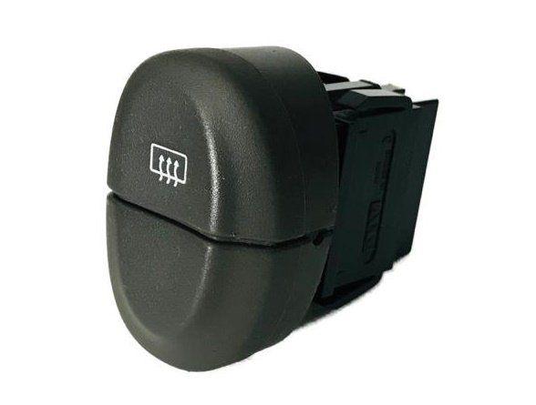 Botão do Painel Interruptor de Desembaçador Traseiro Cinza Led Ambar 432965b Renault Scenic 03 04 05 06 07 08