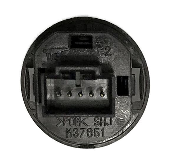 Botão do Painel Saida Auxiliar P2 Original M37851 Honda City 08 09 010 011 012 013 014 015 016