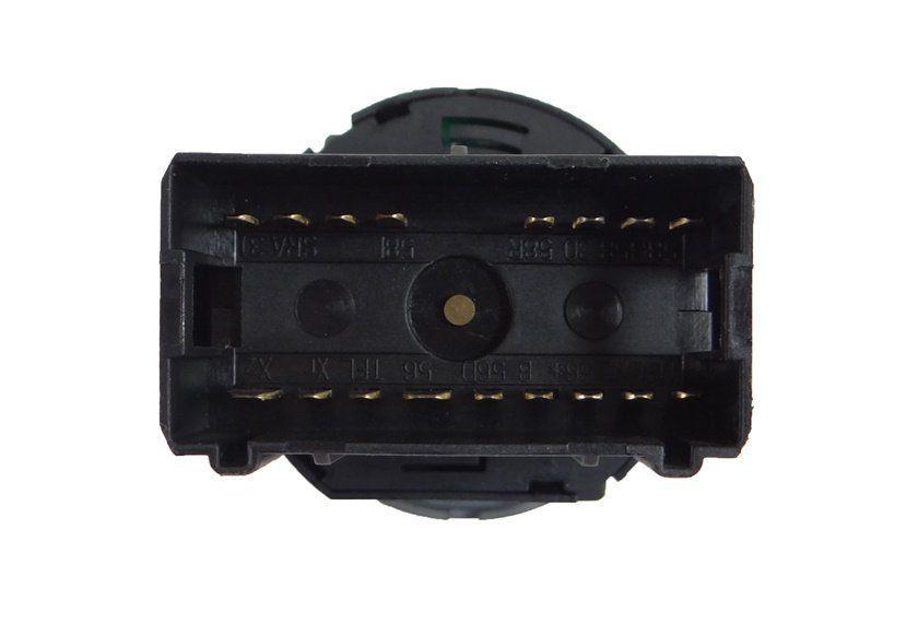 Botão Interruptor de Farol Lanterna Do Painel Led Vermelho 377941534 Vw Golf Bora Gol Parati Saveiro G3 G4 99 00 01 02 03 04 05 06 07 08