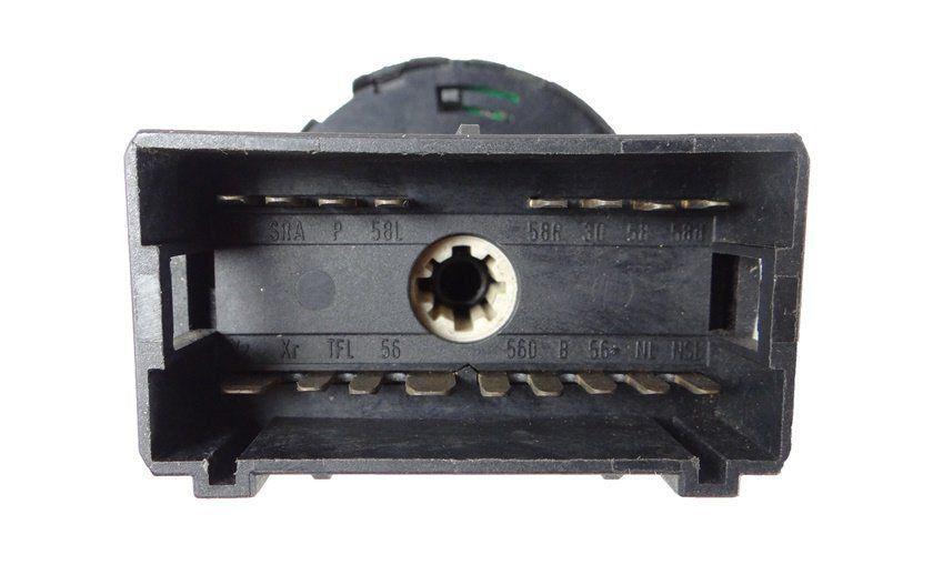 Botão Interruptor De Farol Lanterna Reostato Regulagem de Luz do Painel Iluminação Led Vermelho 377941534A Vw Gol Parati Saveiro G3 99 00 01 02 03