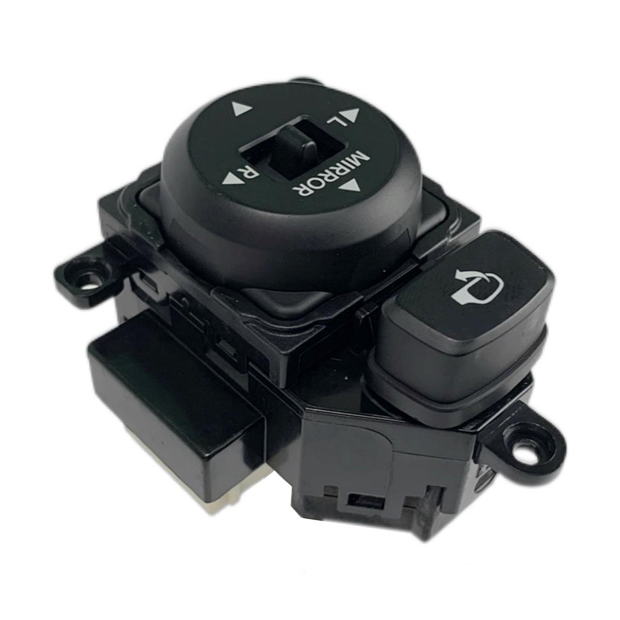 Botão Interruptor de Regulagem do Retrovisor Elétrico com Recolhimento Rebatimento Hyundai I30 08 09 010 011 012