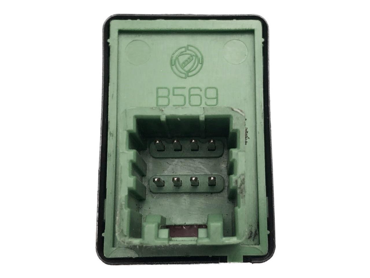 Botão Interruptor de Retrovisor Elétrico Traseira Verde da Porta Fiat Palio Strada Siena Idea G3 05 06 07 08 09 010 011 012 013 014 015 016 017 018 019 020