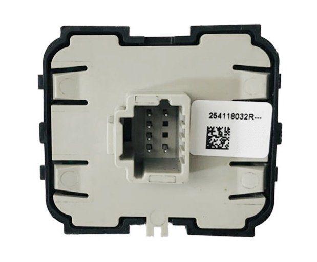 Botão Interruptor de Vidro Dianteiro Esquerdo 254118032r Renault Duster 017 018 019