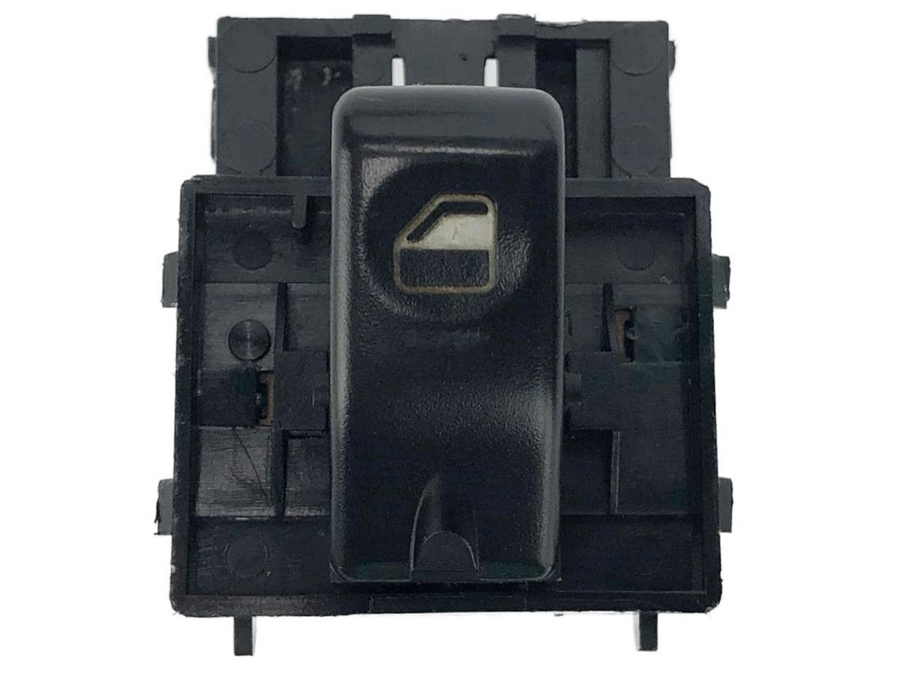 Botão Interruptor de Vidro Elétrico Fundo Preto Porta Dianteiro Direito Passageiro Fiat Palio Strada Siena G1 96 97 98 99 00 01