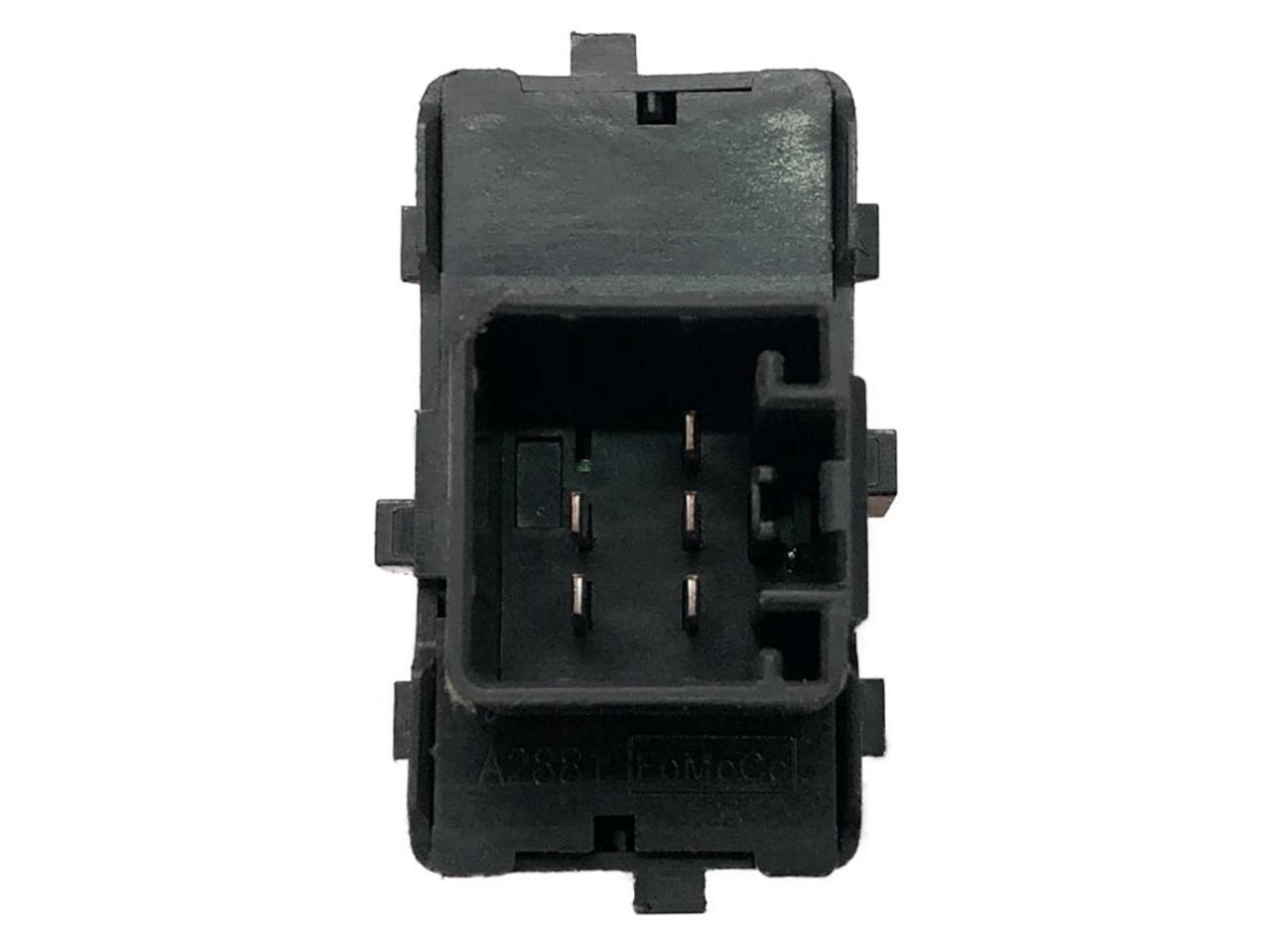 Botão Interruptor de Vidro Elétrico Simples Dianteiro Direito ou Traseiro 7l2t14529aaw Ford Fusion 06 07 08 09