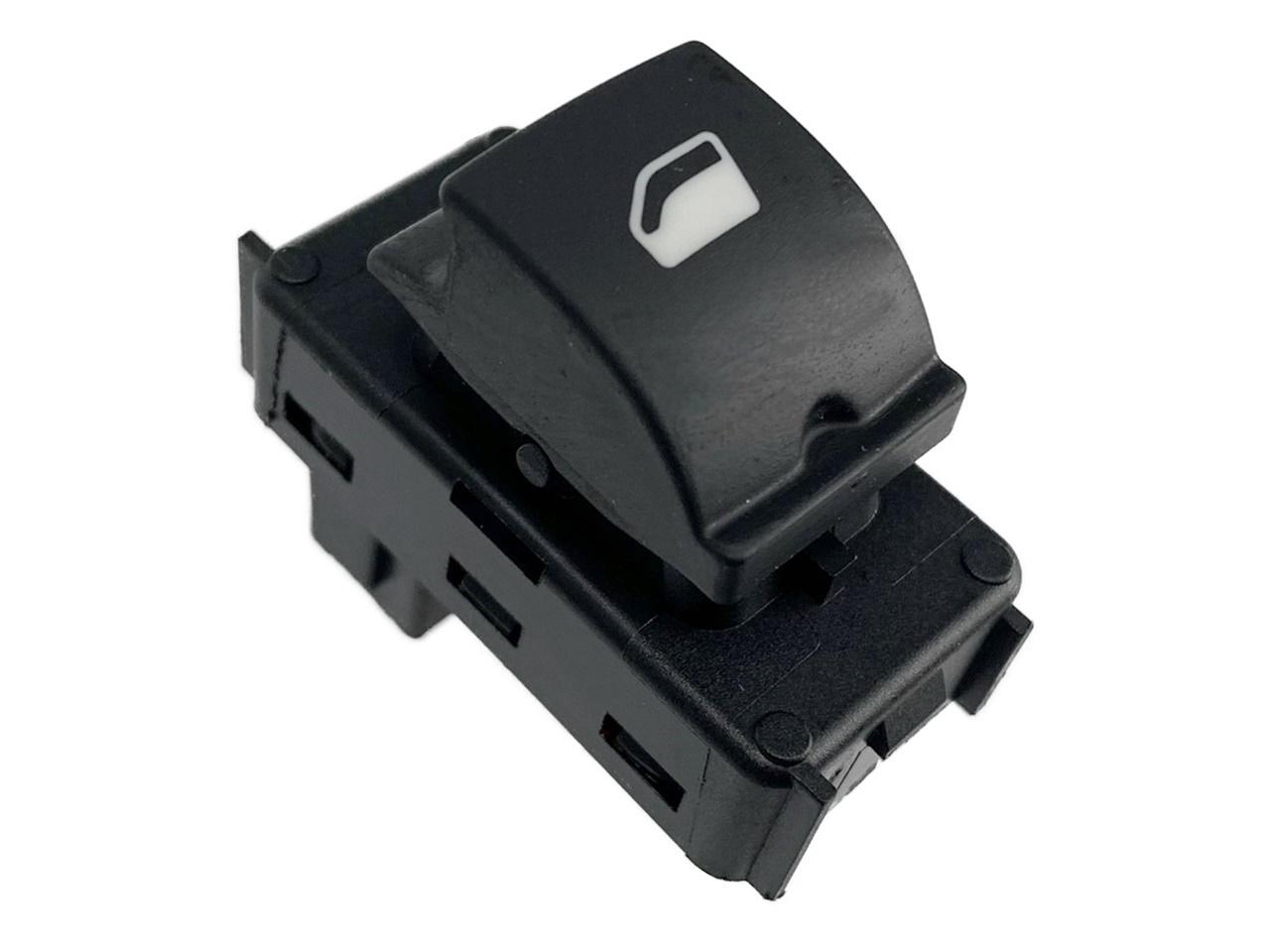 Botão Interruptor de Vidro Elétrico Simples Porta Dianteira Direita ou Traseira Bitron 96662297zd Citroen C4 07 08 09 010 011 012 013