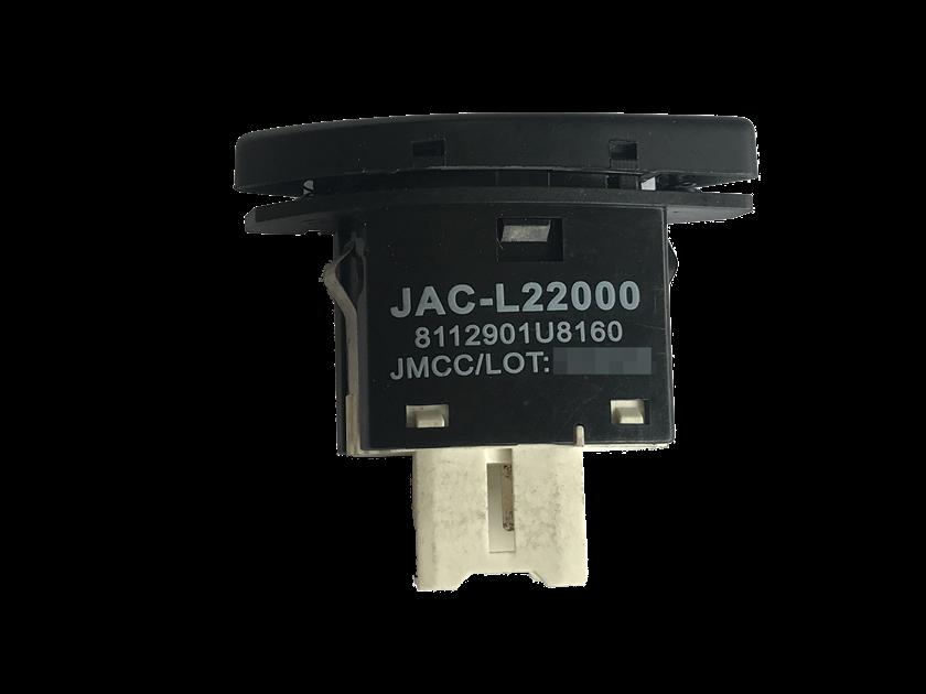 Botão do Painel Interruptor de Acionamento do Recirculador de Ar Condicionado 8112901U8160 Jac J3 011 012 013