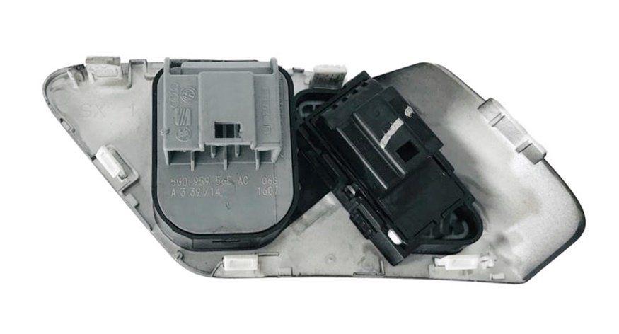 Botão Interruptor de Regulagem do Retrovisor Elétrico Sem Recolhimento Botão de Trava de Porta 5g0959565ac Vw Golf Mk7 013 014 015 016 017 018