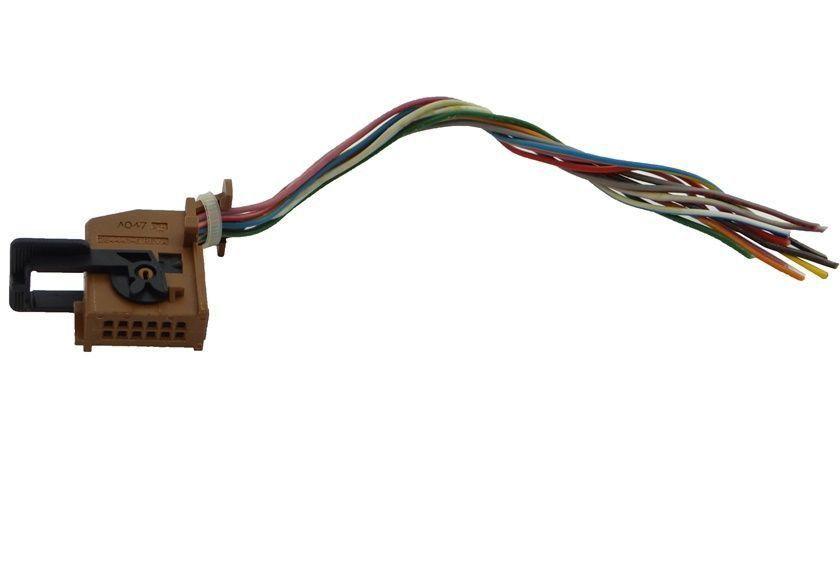 Citroen C4 013 Plug Chicote Computador D Bordo Cent Digital