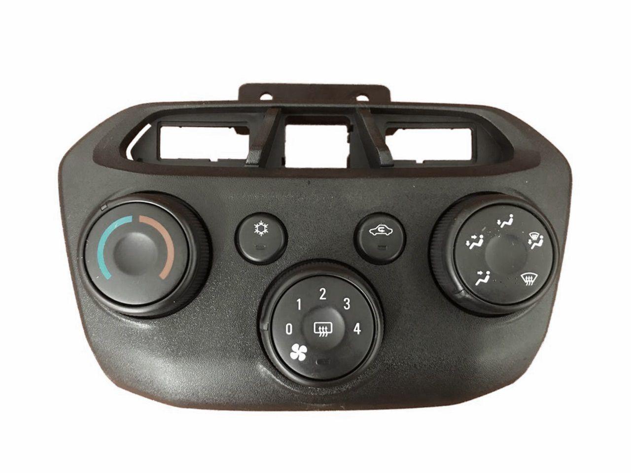 Comando Controle De Ar Condicionado Aro Preto do Painel Original 52112728 Gm Onix Prisma 11 012 013 014 015 016 017 018