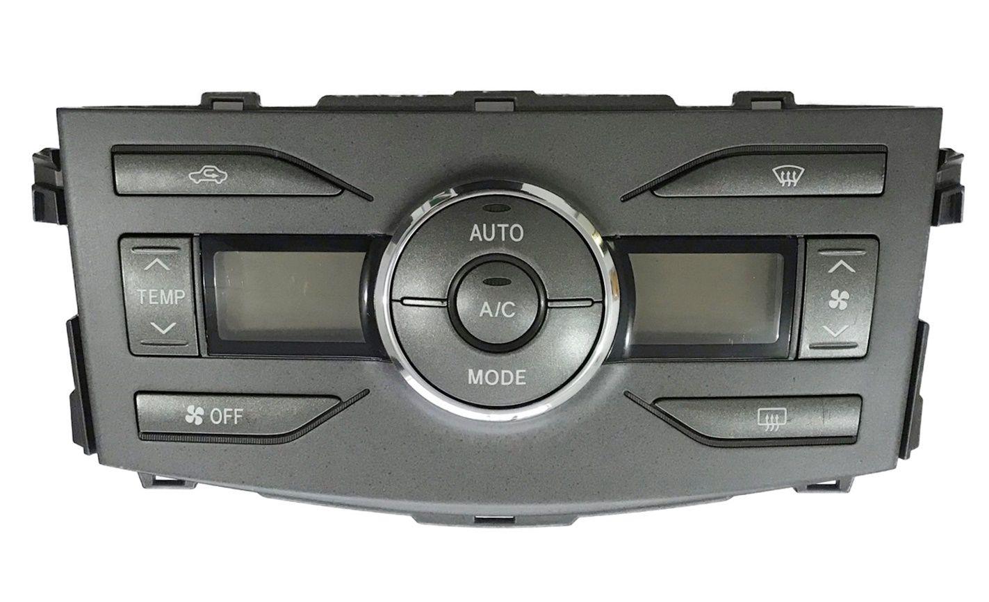 Comando Controle De Ar Condicionado Digital Do Painel Original Toyota Corolla 09 010 011 012