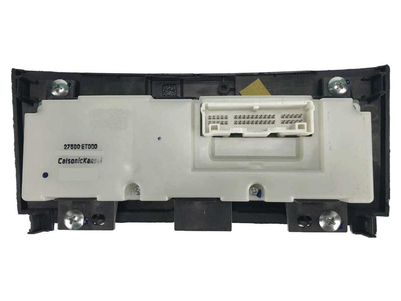Comando Controle de Ar Condicionado do Painel Desembaçador Recirculador Direcionador Ar Quente Calsonic Kansei 27500et000 Nissan Sentra 08 09 010 011 012
