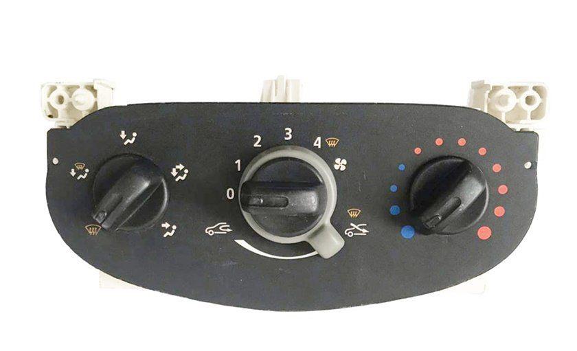 Comando Controle De Ar Do Painel Renault Logan 013 014 015 016 227314100000 Sem Ar Condicionado