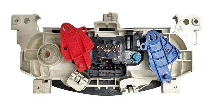 Comando Controle De Ar Quente Ventilado Do Painel Original 227314200000 Renault Logan 09 010 011 012 Sem Ar Condicionado