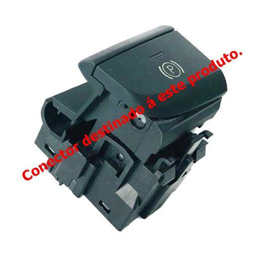 Plug Conector Chicote do Botão de Estacionamento 8V1927225 AUDI A3 014 015 016 Ref 28129