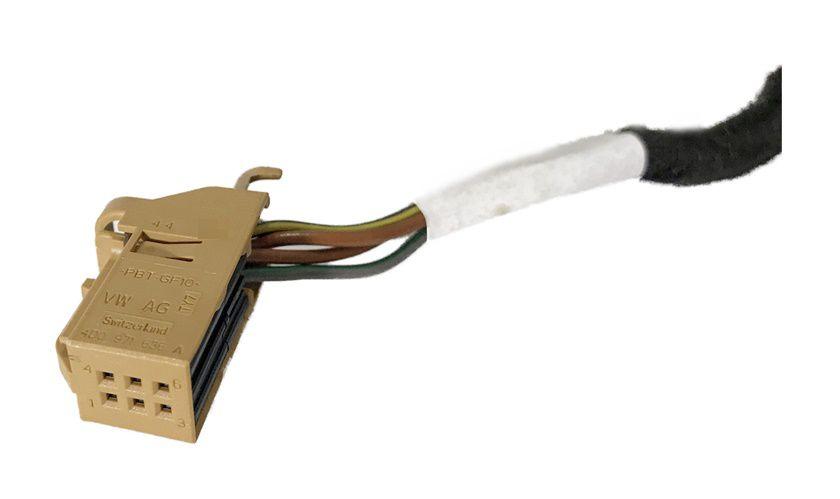 Conector Chicote Plug do Botão de Pisca Alerta Gol Voyage Saveiro G7 Ref 18894