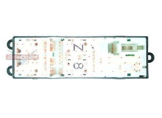 Conjunto Botão Interruptor De Vidro Eletrico e Trava Motorista 254013AA2B Nissan Tiida Livina March Versa 010 011 012