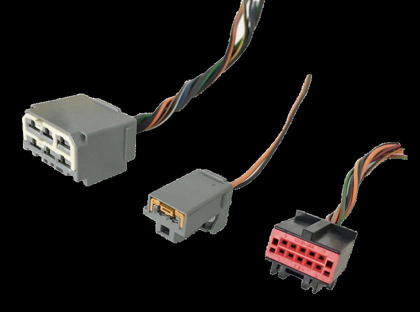 Conjunto De Plug Conector Do Controle Ar Condicionado Ford Ecosport 2008 2012 ref 9662