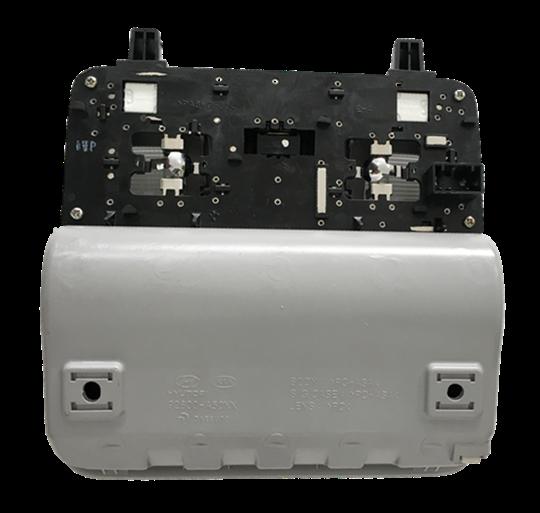 Console Porta Óculos Lanterna Luz De Teto Frontal Original Hyundai I30 Elantra 2014 2015 2016 92800a50xx Topvili