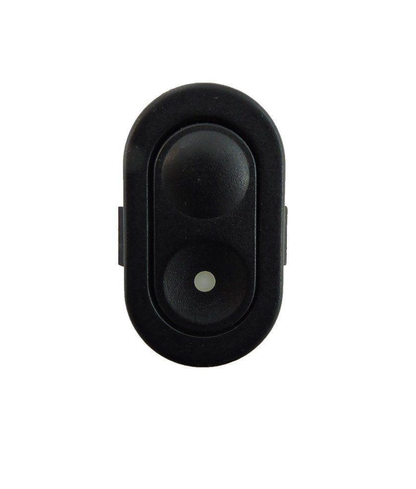 Botão Interruptor De Vidro Elétrico Simples 6 Pinos Gm Corsa Classic Celta Do Console