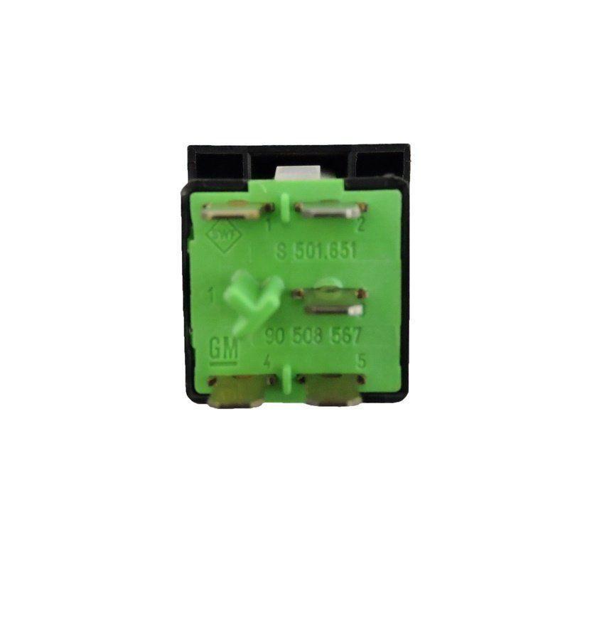 Botão Interruptor do Recirculador De Ar Condicionado do Painel 90436487 90508567 Gm Vectra 97 98 99