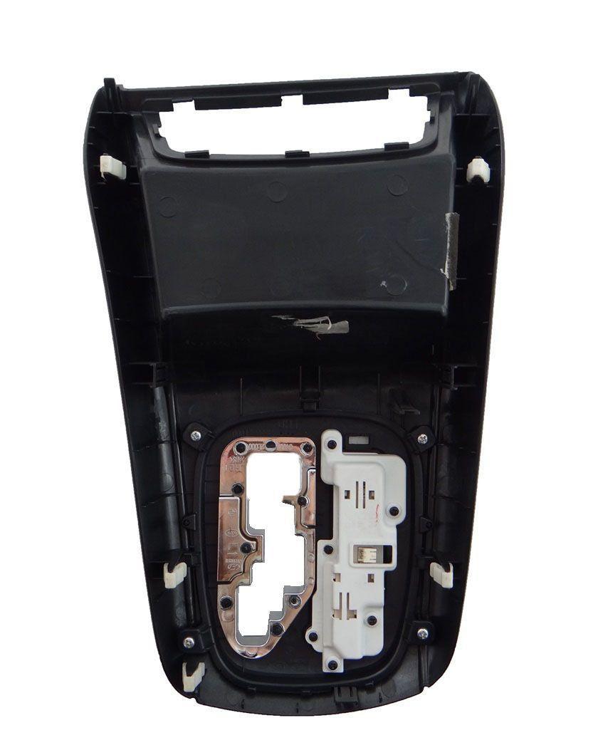 Hyundai I30 09 012 Moldura Console Central Cambio Automático
