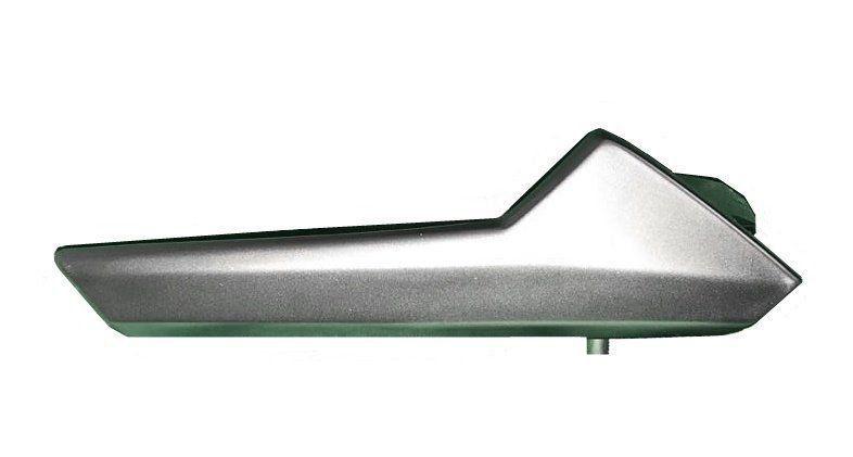 Kit 4 Maçaneta Interna Cromo Escovado Original Vw Polo 018 019 020 Tsi Comfortline