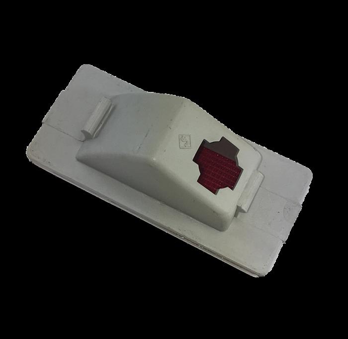 Lente Lanterna Cortesia Interna Da Porta Monza Kadett