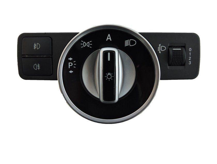 Mercedes C180 C200 C220 08 012 Botão Farol D Milha E Neblina