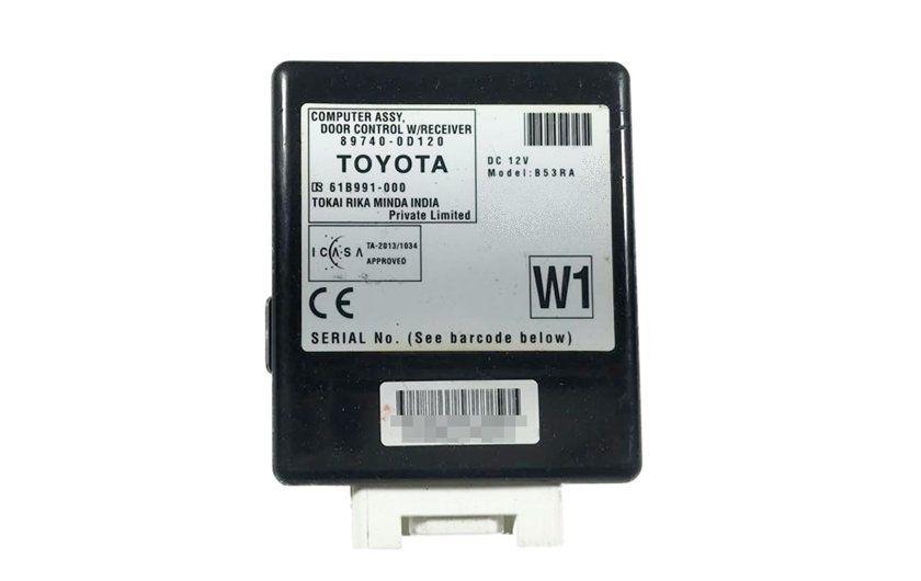 Modulo Central de Trava 897400d120 Toyota Etios 016 017 018 019