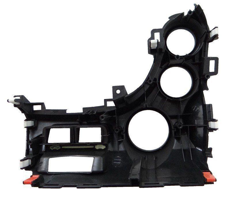 Acabamento Moldura Do Controle De Ar Condicionado Do Painel Honda New Fit 09 010 011 012 013 014