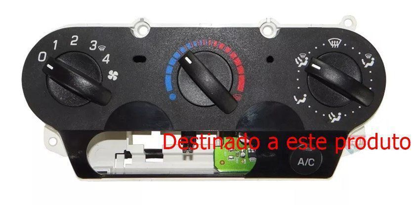 Par De Plug Chicote do Comando Conector Do Controle Controle De Ar Condicionado do Painel Ford Fiesta Class 08 09 010 011 012 013 014 015 016 Ecosport 08 09 010 011 012 ref 9739