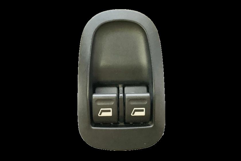 Conjunto Botão Interruptor De Vidro Elétrico Duplo do Console Peugeot 206 207 99 00 01 02 03 04 05 06 07 08 09 10