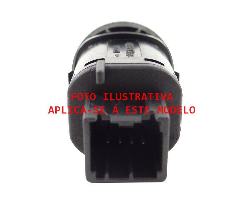 Plug Chicote Conector Do Botão Do Desembaçador Ford Fiesta Class 08 09 010 011 012 013 014 Ref 16674