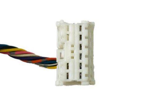 Plug Chicote Conector do Botão Retrovisor Elétrico Nissan Tiida Versa March Kicks Livina 017 018 019 Ref 28153