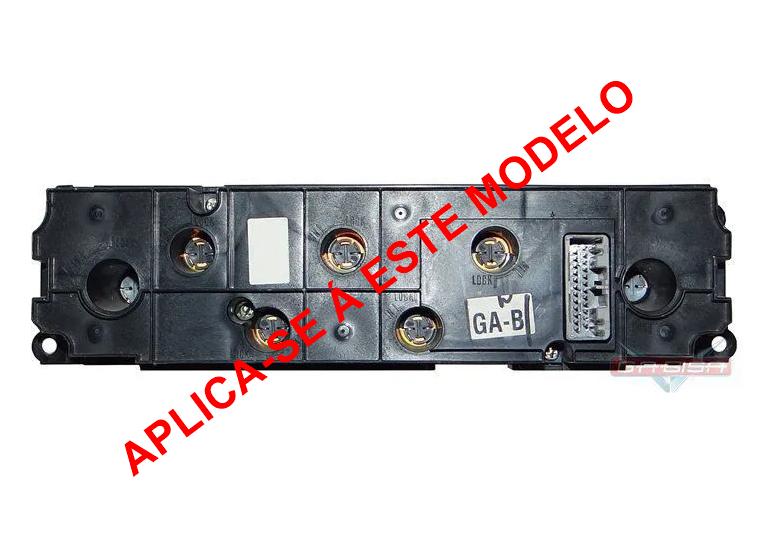 Plug Chicote Conector Rabicho Do Comando Controle De Ar Condicionado do Painel Honda New Civic 06 07 08 09 010 011 012
