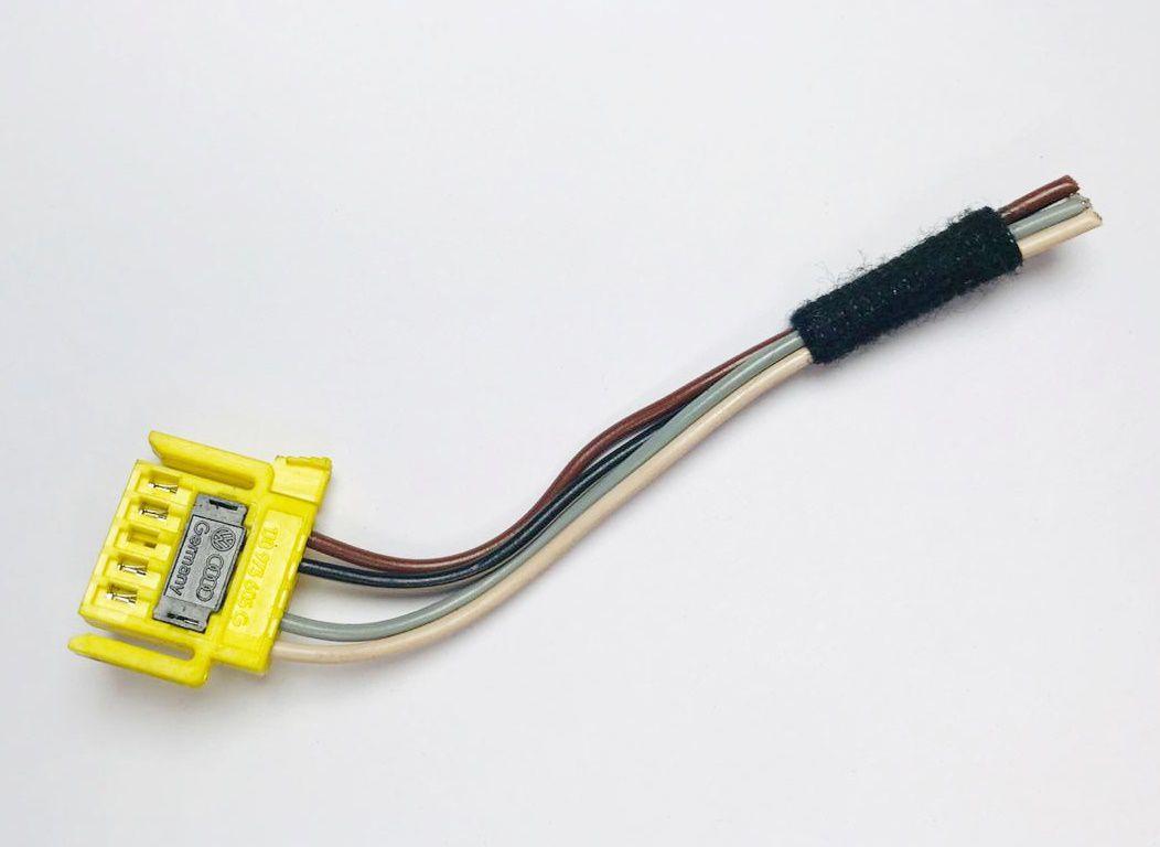Plug Chicote Do Hard Disc Do Air Bag Original Vw Gol Saveiro G4 G5 Fox 05 06 07 08 09 010 011 012 013 Ref 9646