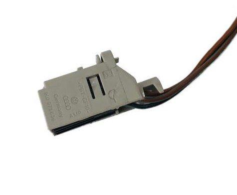 Plug Conector Chicote 1k0971636 do Botão De Vidro Traseiro Direito Vw 5u0959855e Gol Saveiro Voyage G7 017 018 019 Ref 21281