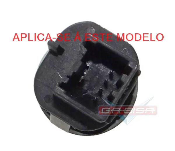 Plug Conector Chicote Do Botão De Abertura Do Porta Malas Fiesta Class 2008 a 2014 14569837 Ref 9096
