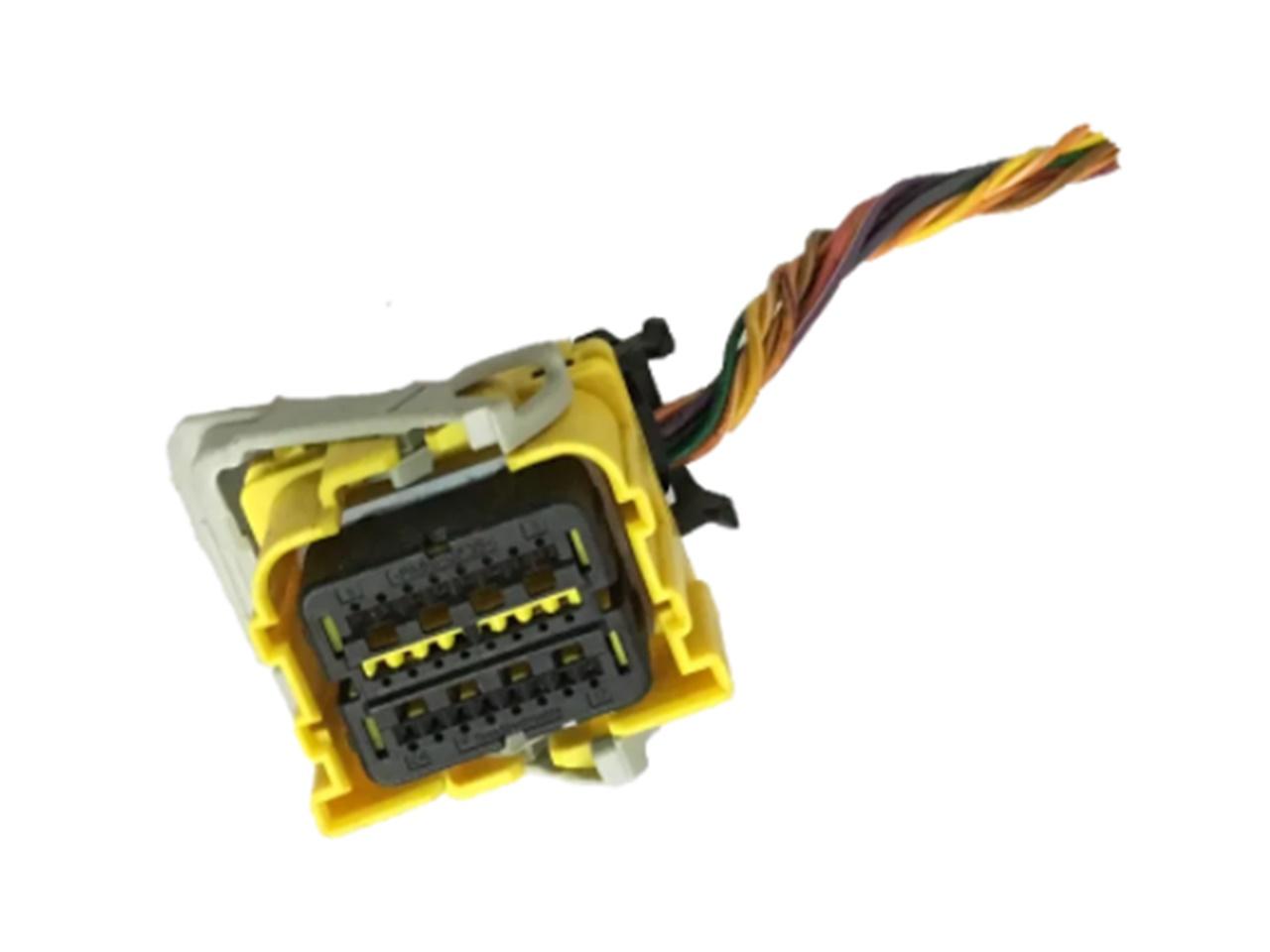 Plug Conector Chicote Menor do Módulo de Air bag 13583413 23116541 13587666 13589686 22922715 13585613 13595559 13514454 Prisma Spin Onix Sonic Cruze 011 012 013 014 015 016 017 018 019