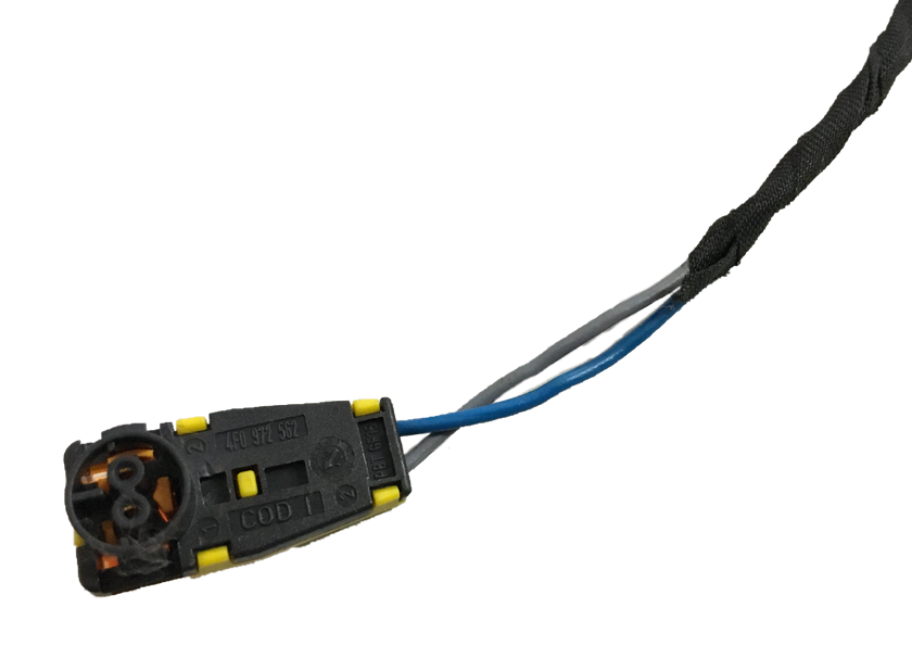 Plug Conector D Air Bag D Passageiro Fox Cross Space 09 012