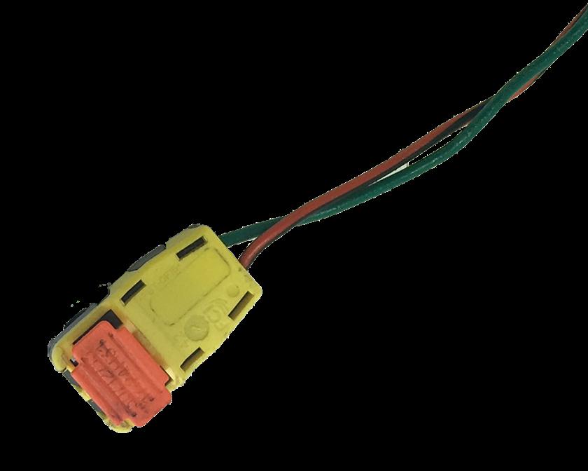 Plug Conector Chicote do Air Bag Direito Passageiro do Painel Gm Spin Cobalt Prisma Onix Agile Montana 012 013 014 015 016 017 018 019