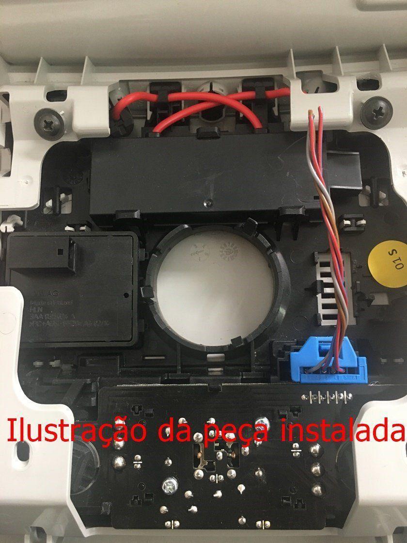 Plug Conector Da Luz Lanterna De Teto Do Vw Jetta 2014 6q0972706