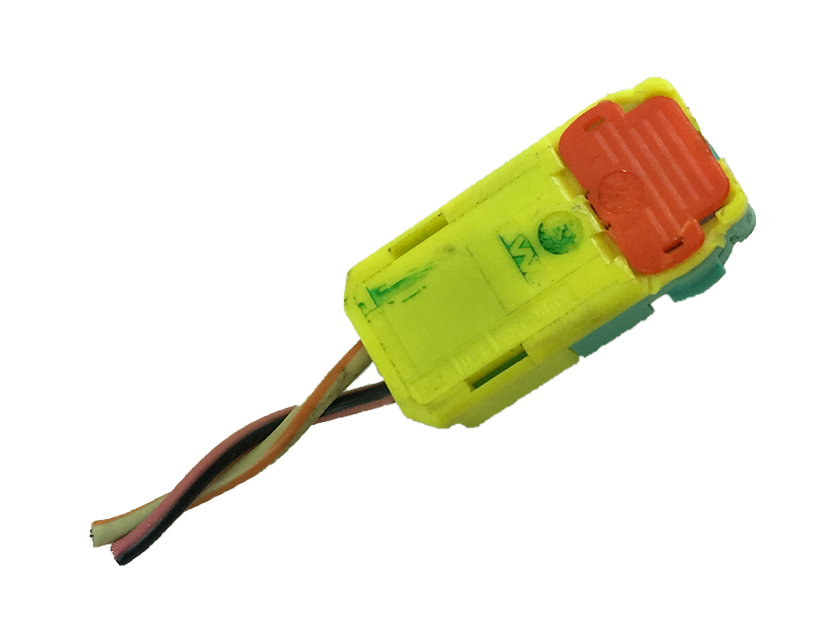 Plug Conector Do Air Bag Passageiro Direito Gm Captiva 2008 2017